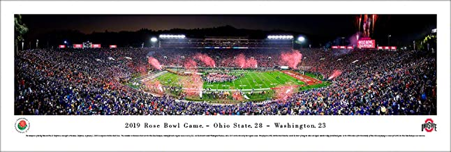 2019 Rose Bowl Champions - Ohio State - College Posters, Framed Pictures and Wall Decor by Blakeway Panoramas