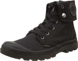 Palladium Boots Mens Baggy Canvas Boots , Black/Black