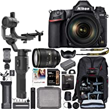$3249 » Nikon D780 Full Frame 4K FX DSLR Camera + AF-S 24-120mm VR Lens Filmmaker's Kit with DJI Ronin-SC 3-Axis Handheld Gimbal Stabilizer Bundle + Deco Photo Backpack Case + 64GB Card + Software