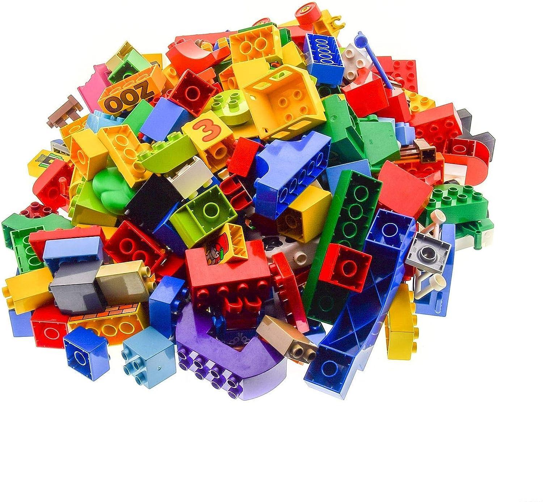 3 Kg Lego Duplo Steine ca 230 Teile Basicsteine Sondersteine Kiloware zufllig Bunt Gemischt
