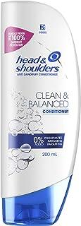 Head & Shoulders Clean & Balanced Anti Dandruff Conditioner, 200ml