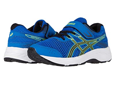 ASICS Kids GEL-Contend 6 (Toddler/Little Kid) (Tuna Blue/Black) Boys Shoes
