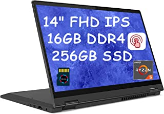 Lenovo Flex 5 Premium 2020 2 in 1 ビジネスノートパソコン I 14インチ FHD IPS タッチスクリーン I AMD Ryzen 5 4500U (> i7-8550U) Hexa-Core I 16GB D...
