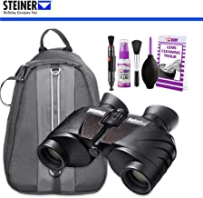 Steiner 8 x 30 Safari UltraSharp Binoculars with Padded Backpack and Cleaning Kit
