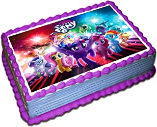 Peachy Best My Little Pony Cake Transfers In 2020 The Comprehensive Reviews Personalised Birthday Cards Beptaeletsinfo
