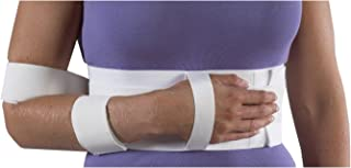 Bilt-Rite Mastex Health Shoulder Immobilizer, White, Large