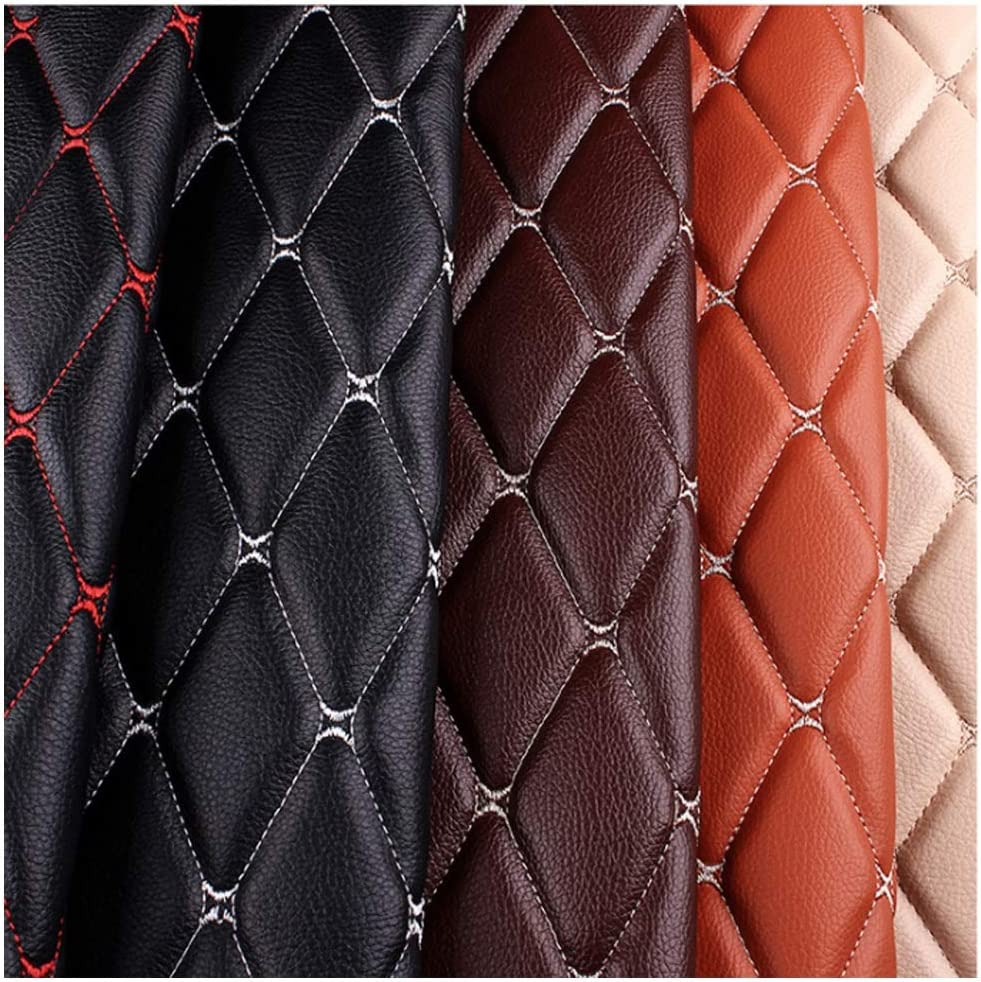 Faux Leather Embroidered Car Seating Fabric Challenge the lowest price of Japan ☆ Max 70% OFF