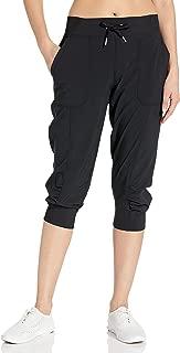 Women's Rib Cuff Bottom Capri Pant