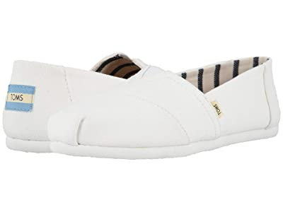 TOMS Seasonal Classics (White Canvas) Women