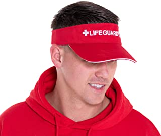 LIFEGUARD Officially Licensed Visor - Feel Comfortable - Hat for Men & Women, The Materials - One Size
