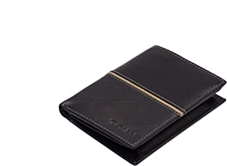 TOUGH Genuine Leather Wallets for Men High Quality- Brown