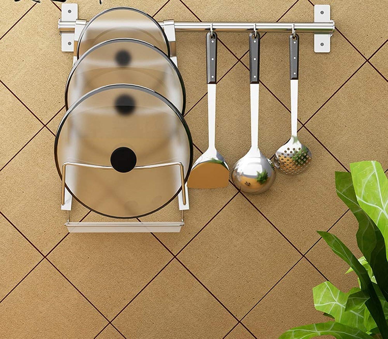 Kitchen Racks,Wall Pot Pan Rack,Shelf Liners Metal Easy to Use Kitchen Organization