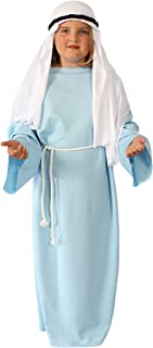Alexanders Costumes Story of Christ Biblical Gown Child Costume, Light Blue, Small