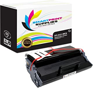 Smart Print Supplies Compatible 12A7305 MICR Black High Yield Toner Cartridge Replacement for Lexmark E321 E323 Printers (6,000 Pages)