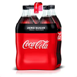 Coca-Cola Zero Sugar EINWEG, (4 x 1,5 l)