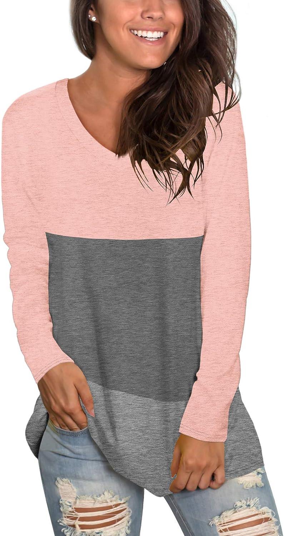Sipaya Womens T Shirts Basic V Ranking TOP17 Seattle Mall Casual Loose Tee Neck Sho Fitting