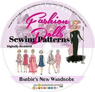 Barbie's New Wardrobe: Vintage Sewing Patterns P102
