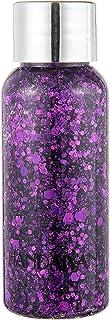 Eye Glitter Glittering Hair Body Face Gel Glitter Practical Compatible with Decorating 1 Bottle Purple