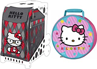 ZUCA Hello Kitty Geek Chic Sport Insert Bag with Thermos Hello Kitty Lunch Kit