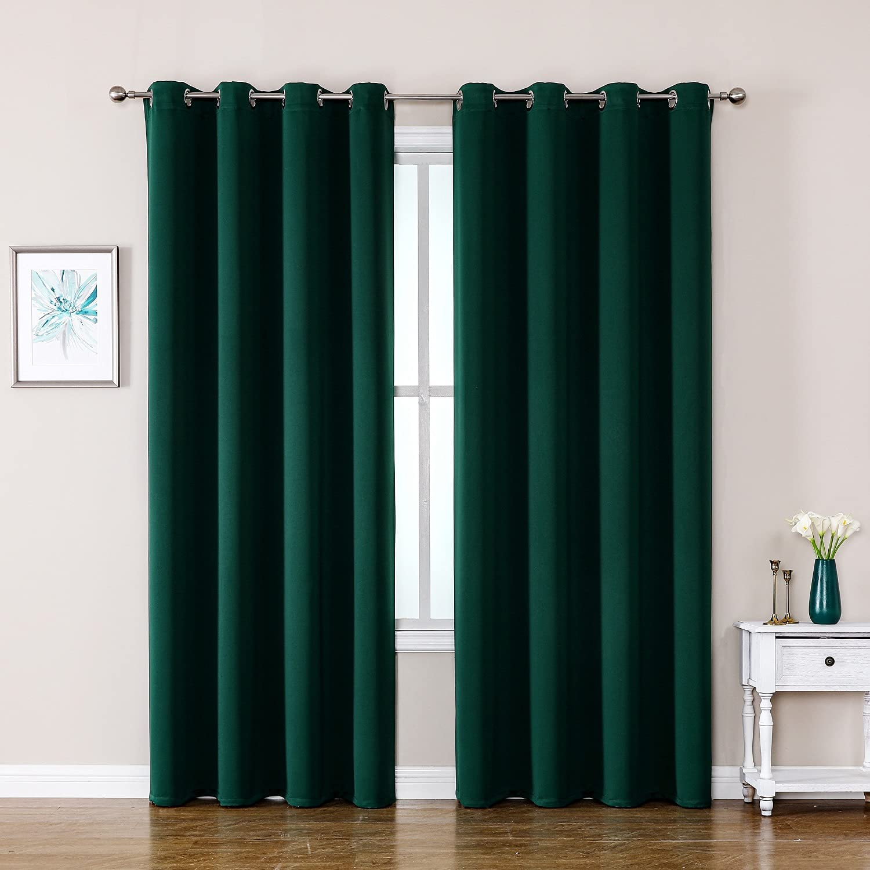 service ChrisDowa Grommet Many popular brands Blackout Curtains for and Room Bedroom Living