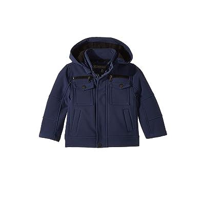Urban Republic Kids Lennon Softshell Officers Jacket w/ Zip Off Hood (Toddler) (Navy) Boy