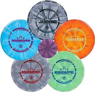 Dynamic Discs Prime Burst Disc Golf Starter Set | Beginners Frisbee Golf Set | Sets Include Disc Golf Putter, Midrange, Fa...