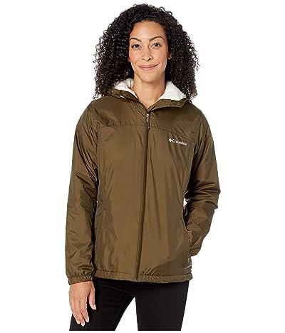 Columbia Switchbacktm Sherpa Lined Jacket (Olive Green/Chalk) Women