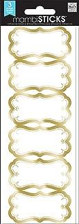 me & my BIG ideas, Border Label, Gold Lace