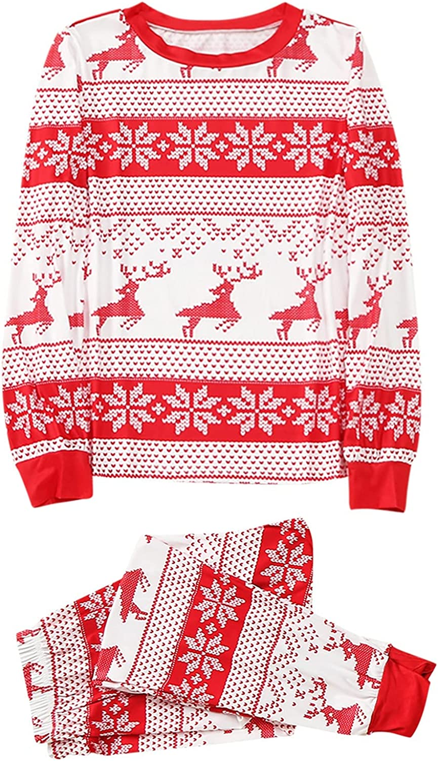 Christmas Pajamas for Family Women Holiday P 2021 Cheap mail order shopping spring and summer new Matching Pajama Men
