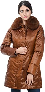PEUTEREY Luxury Fashion Womens PED332401191521839 Bronze Outerwear Jacket | Fall Winter 19