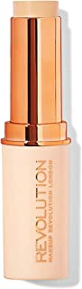 Makeup Revolution Fast Base Stick Foundation F2, Beige, 30g