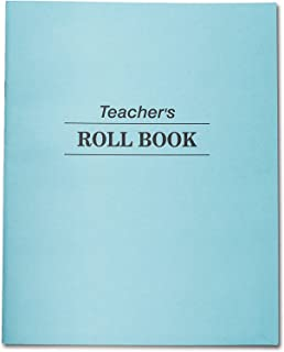 Teachers Roll Book & Class Record, 48 Double Sided Sheets, 35 Student Names per Sheet. Ruled. 9 1/2 in X 7 1/2