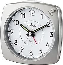 Atlanta XL Grand r/éveil Radio-pilot/é pour Personnes /âg/ées R/éveil analogique Chiffres Volume Argent 1829 19