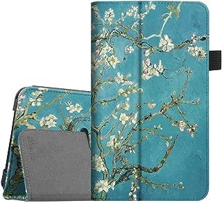Fintie Folio Case for Samsung Galaxy Tab A 7.0 - Premium Vegan Leather Slim Fit Folio Stand Cover for Samsung Galaxy Tab A 7.0 Tablet 2016 Release (SM-T280/SM-T285), Blossom