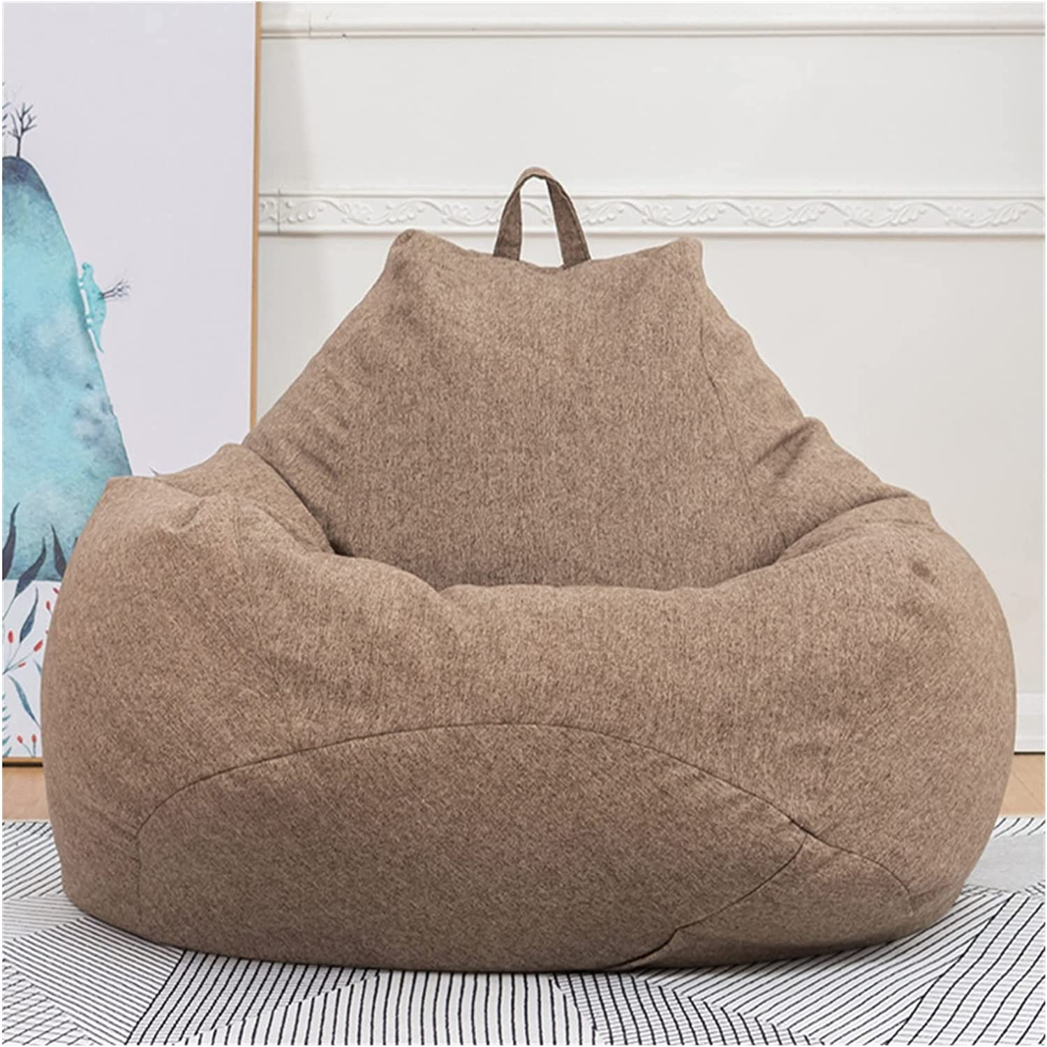 ppqq Comfortable Bean Bag Oklahoma City Mall New item Chair Large Sofa Cover Chairs