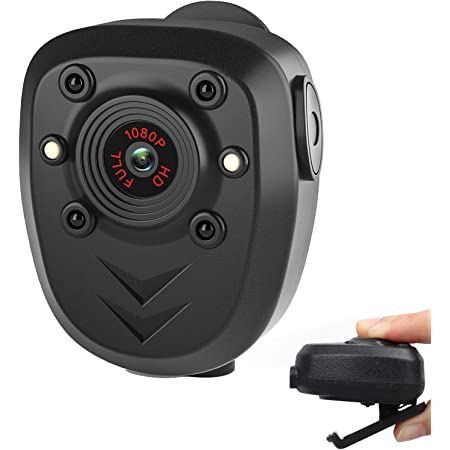Body Camera Video Recorder, Wearable Police Body cam with Night Vision, Built-in 32GB Memory Card, HD1080P,Record Video,Night Vision, 4-6HR Battery Life, Law Enforcement, Security Guard