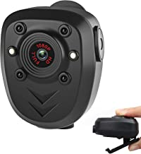 Mini Body Camera Video Recorder, Wearable Police Body cam with Night Vision, Built-in 32GB Memory Card, HD1080P,Record Vid...