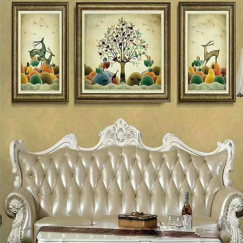 descuento CWJ con con con una Pintura Decorativa en Relieve Tres Pinturas de la Sala de EEstrella Hotel Hotel Pintura,UN,52  72 + 72  92  la mejor selección de