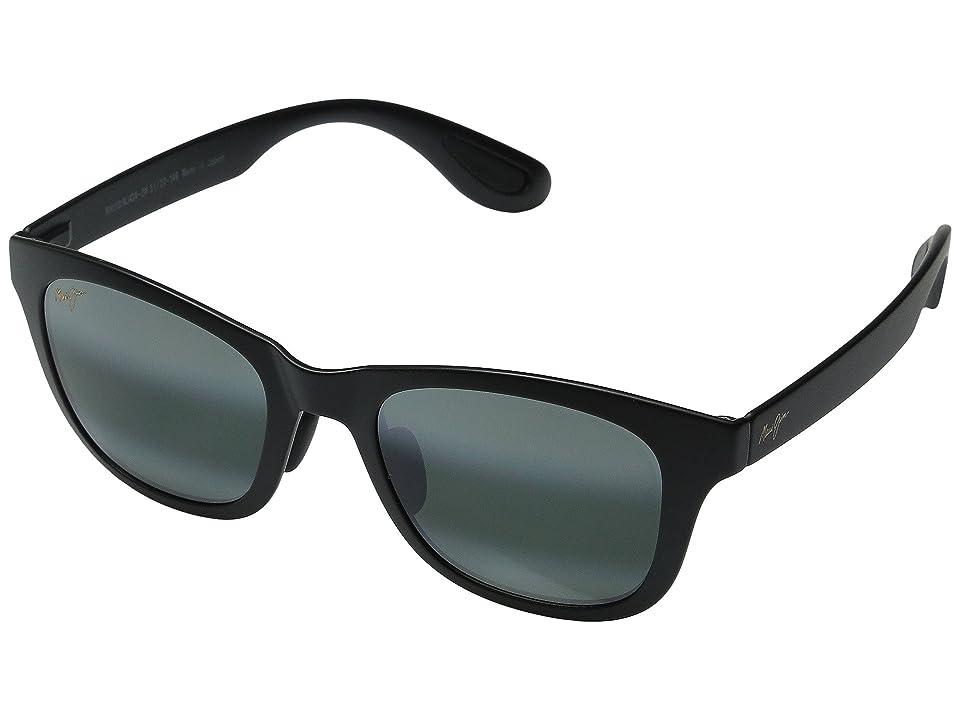 Maui Jim Hana Bay (Matte Black/Neutral Grey) Fashion Sunglasses