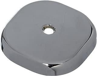 square bathtub overflow plate