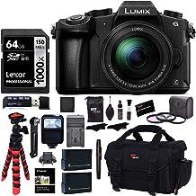 Panasonic LUMIX G85MK 4K Mirrorless Interchangeable Lens Camera Kit, 12-60mm Lens, Lexar U3 64GB Memory Card, 2 Spare Batteries, Charger, Bag and Accessory Bundle