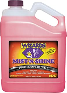 Wizards Mist-N-Shine Detailer_ High Gloss Car Detailing, Surface Cleaner Spray (1 Gallon)