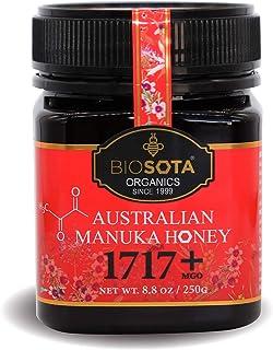 BIOSOTA Australian Manuka Honey MGO 1717+ - Rarest Medical Grade Manuka Honey | 100% Raw Honey | Unheated Pure Honey from ...