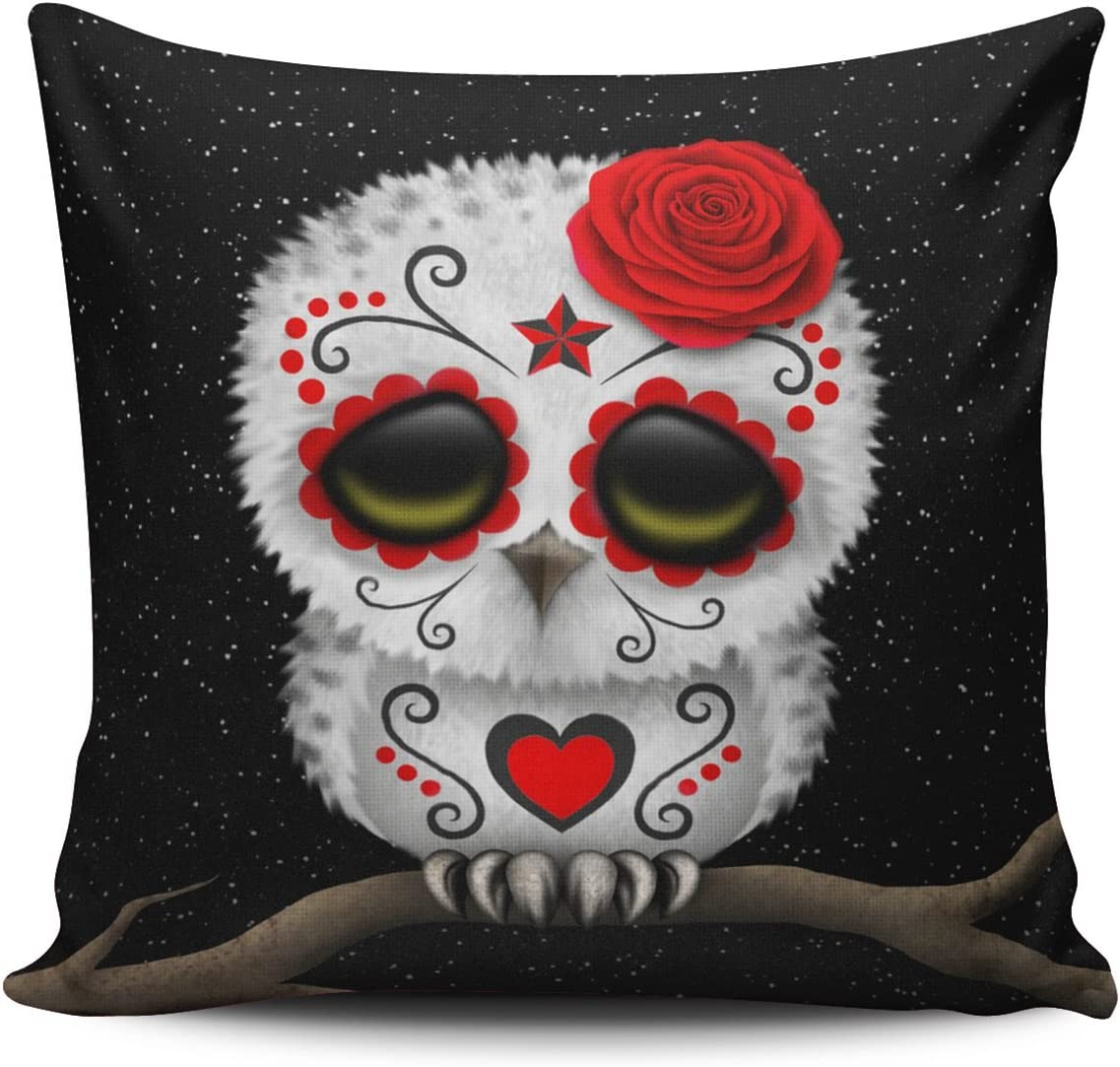 SALLEING Custom 40% OFF Cheap Sale Fashion Home Decor Pillowcase Th Cute Red Fixed price for sale Day of