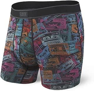 Saxx Underwear Men's Boxer Briefs - Daytripper Boxer Briefs with Built-in Ballpark Pouch Support