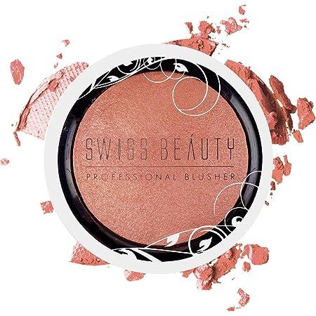 Swiss Beauty Professional Blusher, Face Makeup, 6g (Apricot Peach)