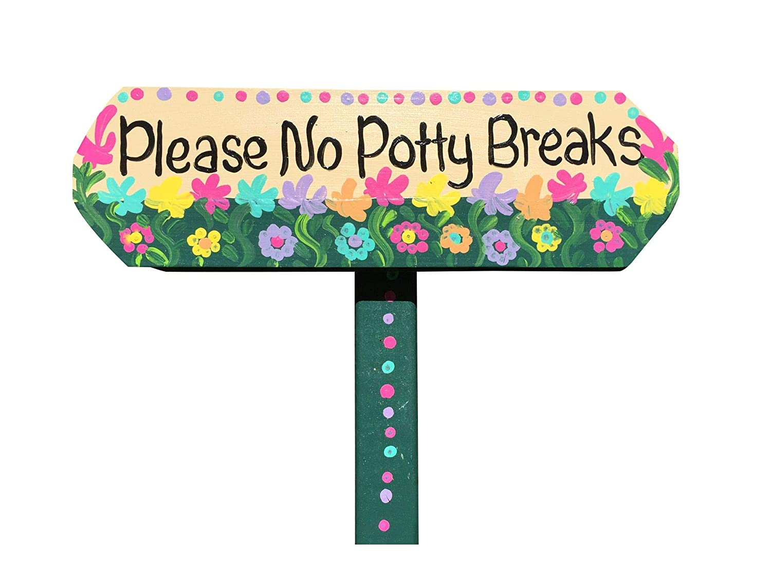 Please No Potty Breaks dog your curb sign Free 1 year warranty Shipping Cheap Bargain Gift