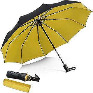 DORRISO Vogue Automático Plegable Paraguas Mujer Hombres Portátil Viajar Paraguas Antiviento Impermeable Unisexo Paraguas ...