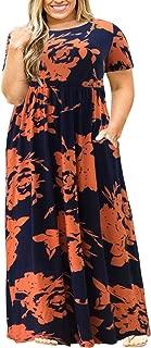 Best plus size burnt orange maxi dress Reviews
