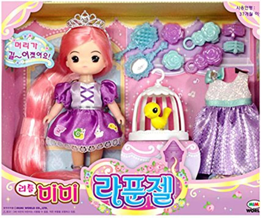 MiMi Save money Max 48% OFF Little Rapunzel Playset Doll